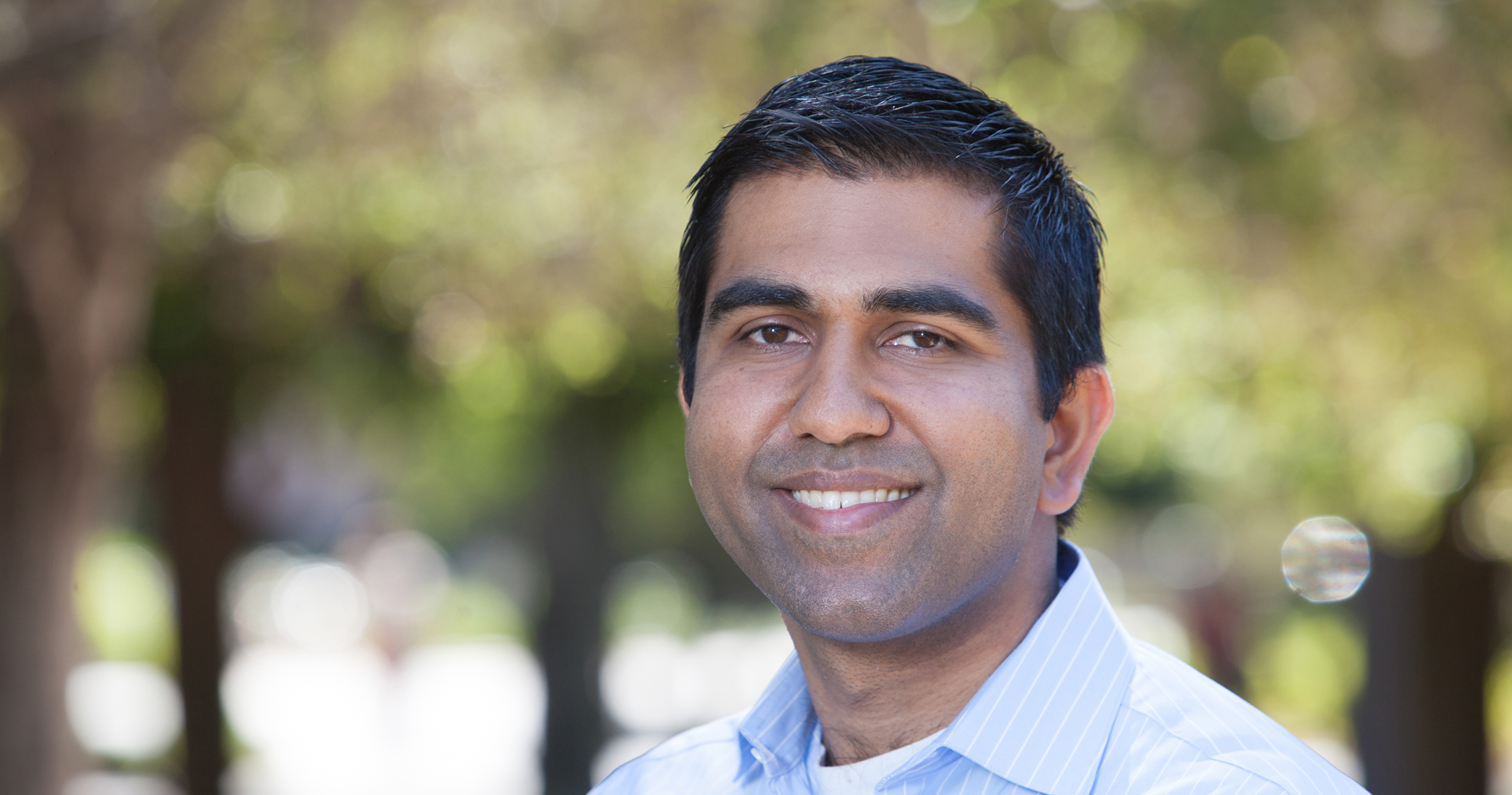 Neil Malhotra, co-director of Stanford's Center for Social Innovation