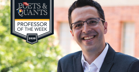 UCLA Anderson's Perez Truglia is our Professor of the Week