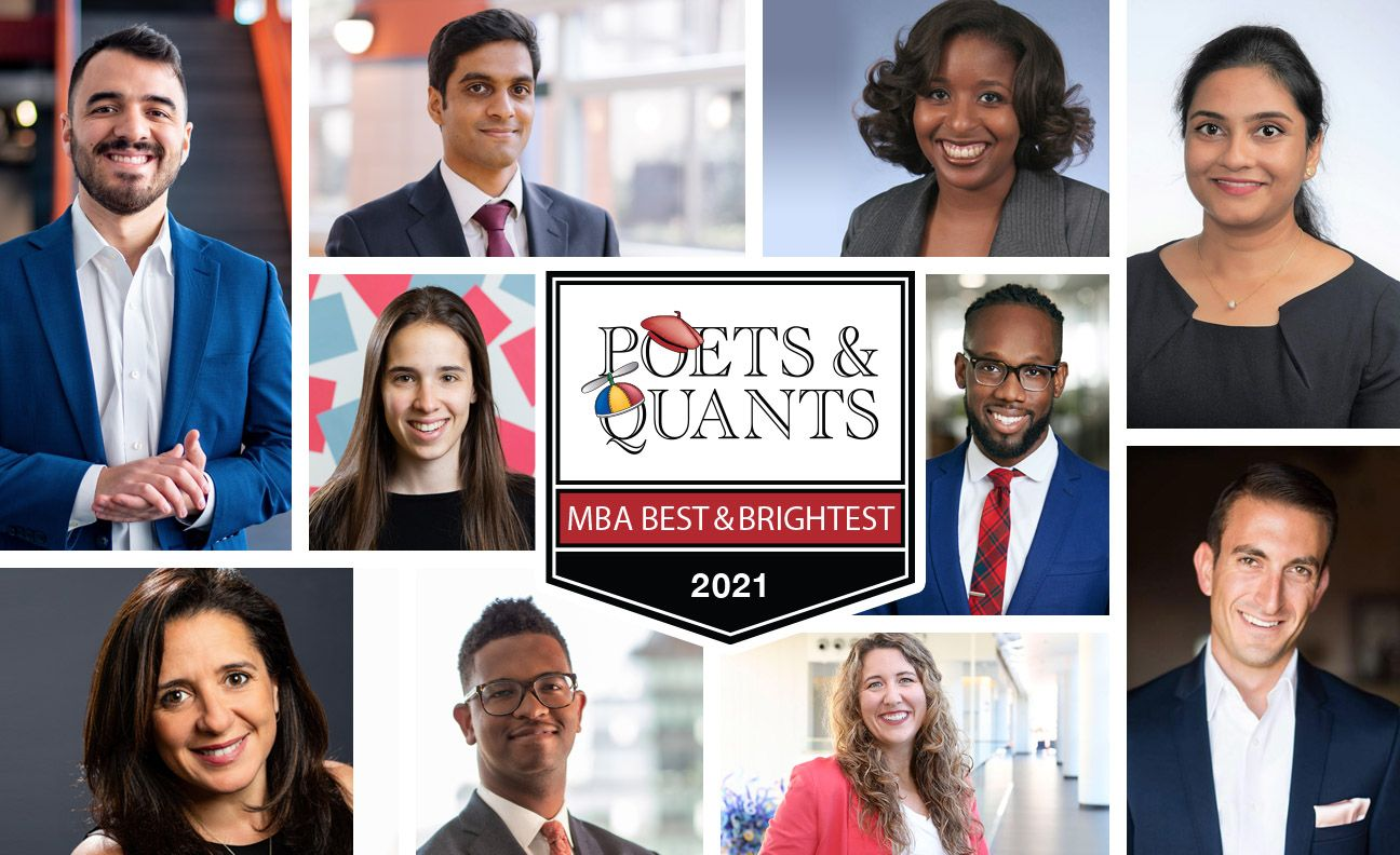 Poets&Quants | 100 Best & Brightest MBAs: Class Of 2021